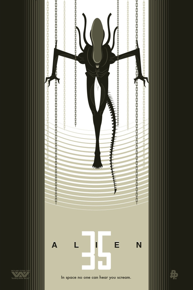 Alien-35th-anniversary-by-Rodolfo-Reyes