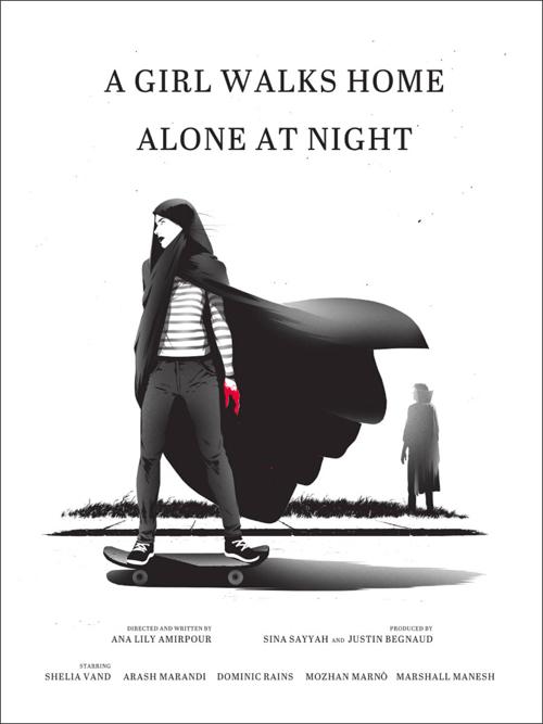 A girl walks home alone at night Mondo