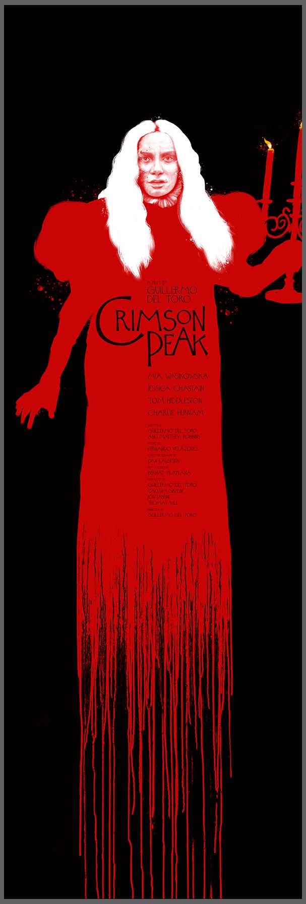 Crimson Peak by Andrew Swainson
