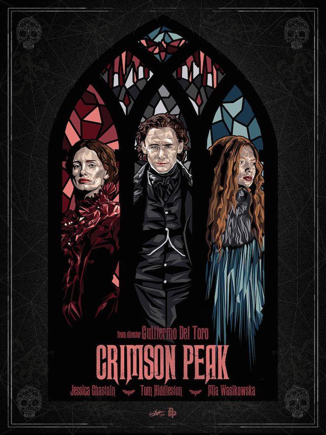 Crimson Peak by Simon Delart