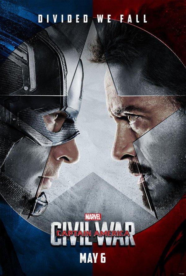 Captain America - Civil War - POSTER1