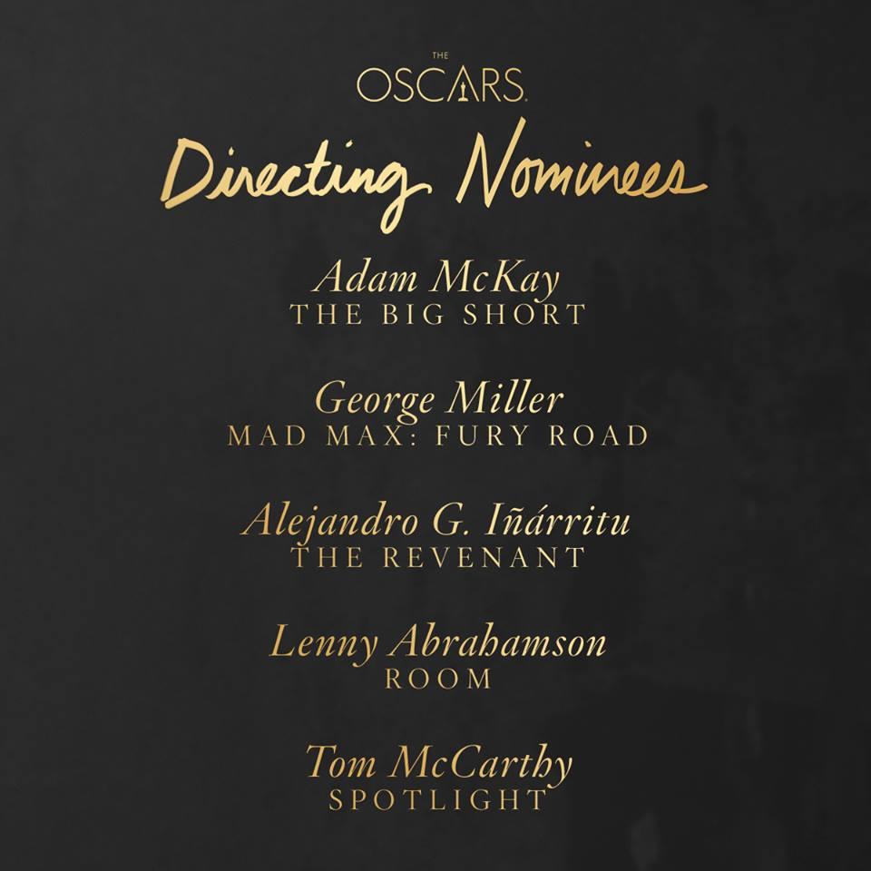 Oscars 2016 Director