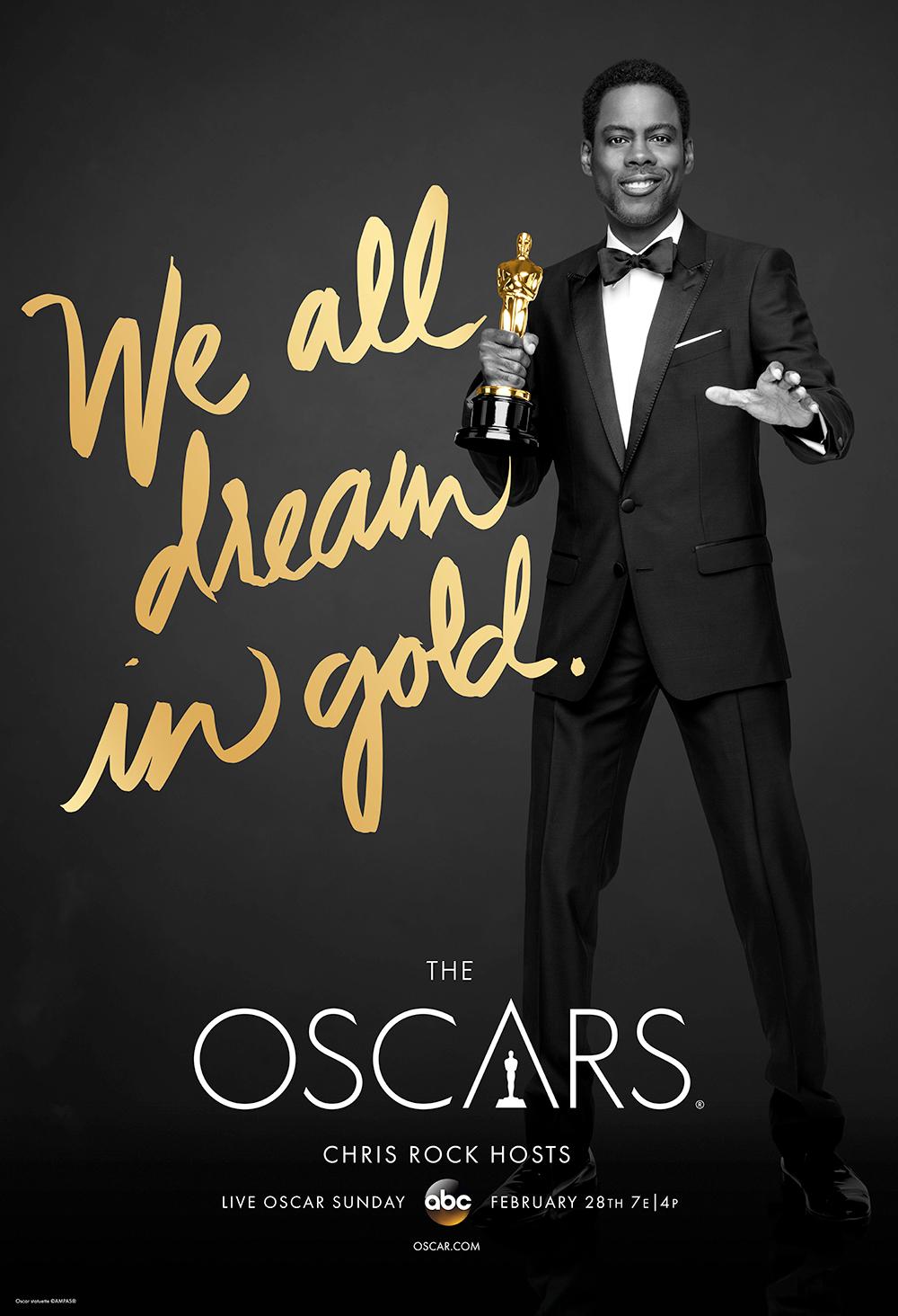 Oscars 2016 Poster