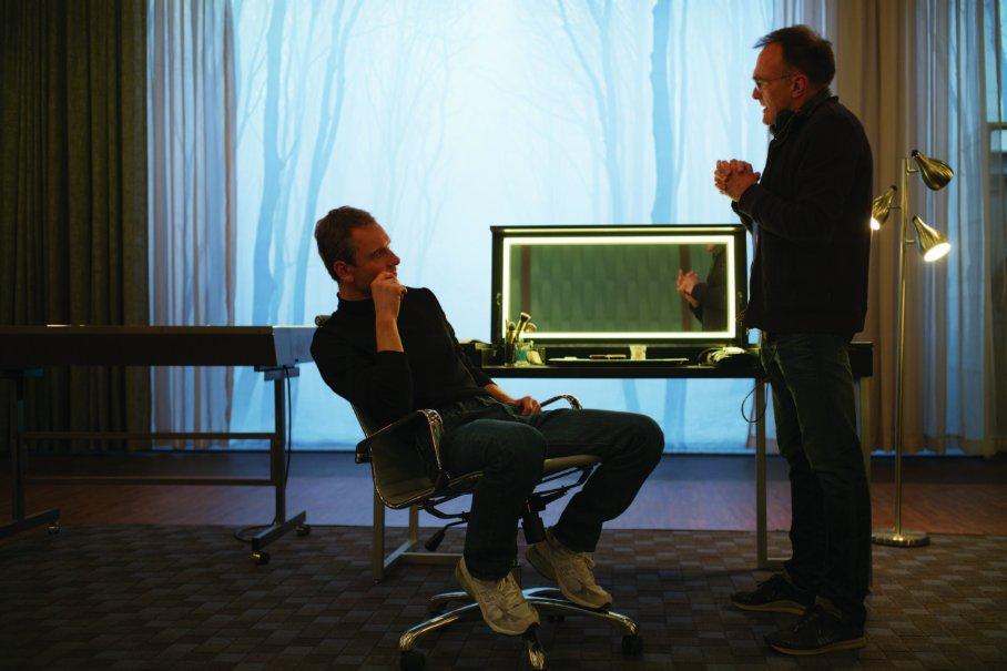 Steve Jobs - shooting 1