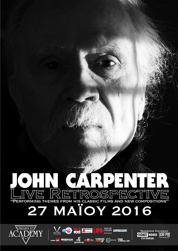 John Carpenter LIVE 2016 - FC