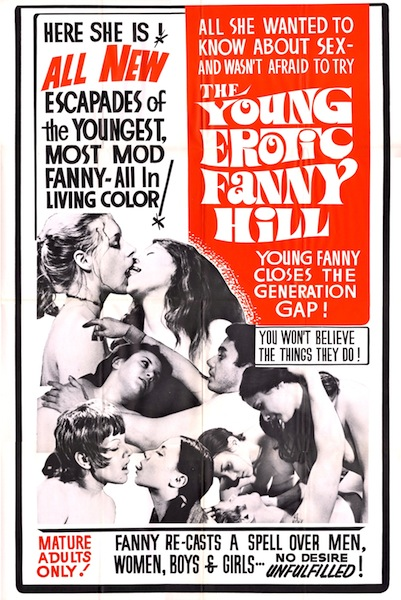 THE YOUNG EROTIC FUNNY HILL