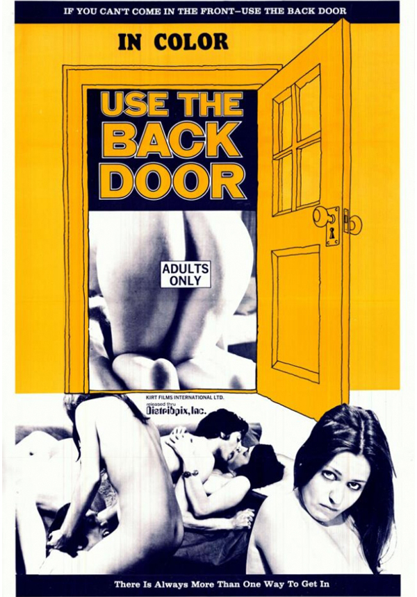 USE THE BACK DOOR
