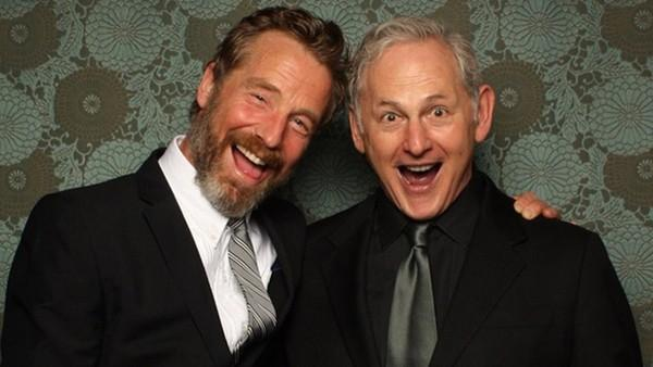 Victor Garber and Rainer Andreesen