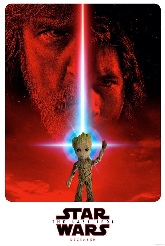 The Last Jedi GROOT