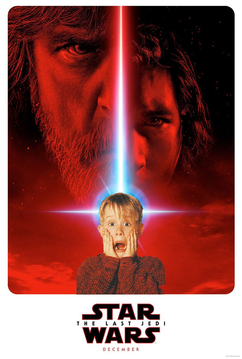The Last Jedi HOME ALONE