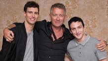 Sean Pertwee, Robin Lord Taylor, Cory Michael Smith