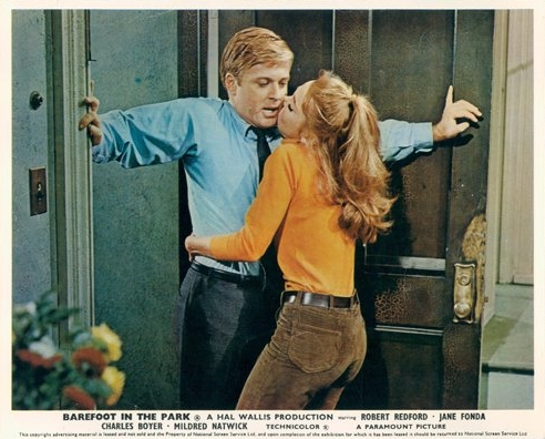 Barefoot in the Park Lobby 1967